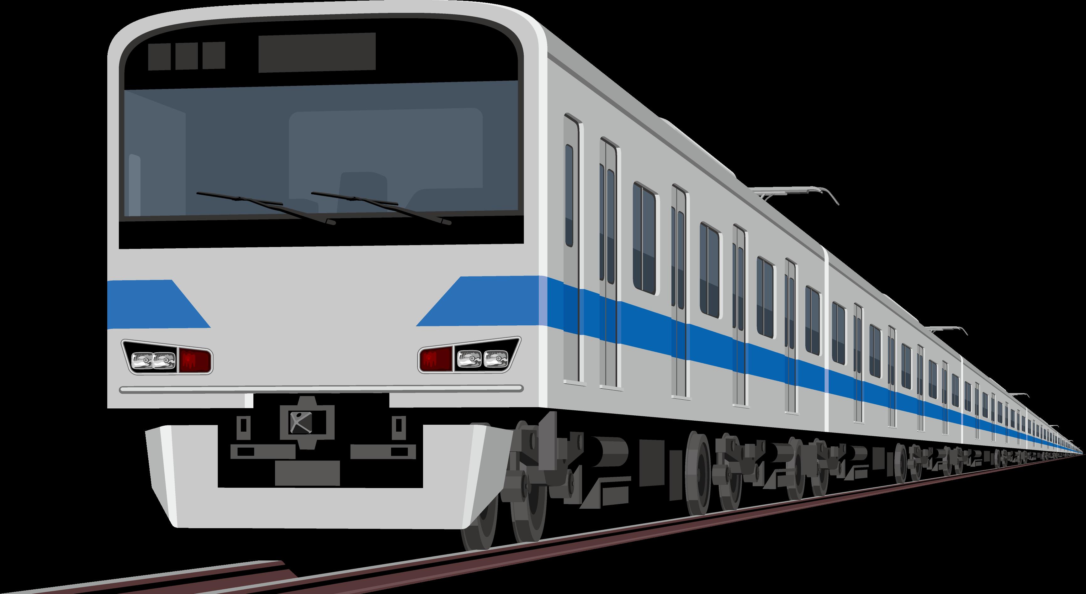 電車(地下鉄ブルーライン)