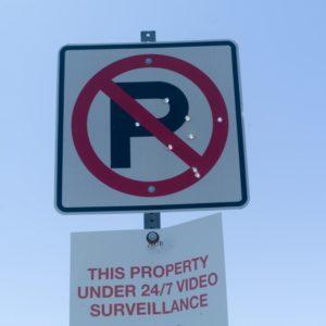所定の場所以外に駐車