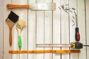 収納庫の改造