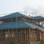 木造住宅建築中